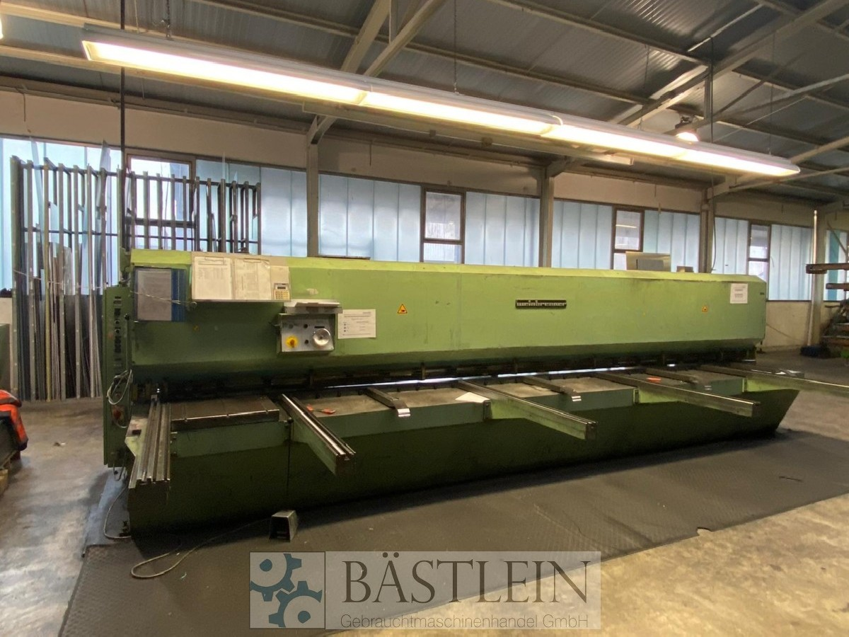 Hydraulic guillotine shear  WEINBRENNER TS 2/6100 photo on Industry-Pilot
