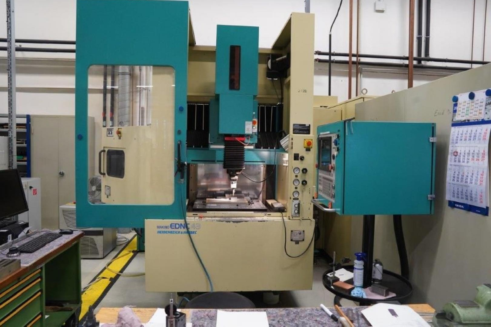 Cavity Sinking EDM Machine MAKINO EDNC 43 photo on Industry-Pilot
