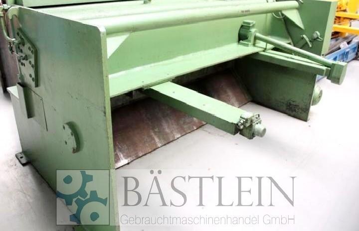 Hydraulic guillotine shear  EHT TSS 4-25 photo on Industry-Pilot