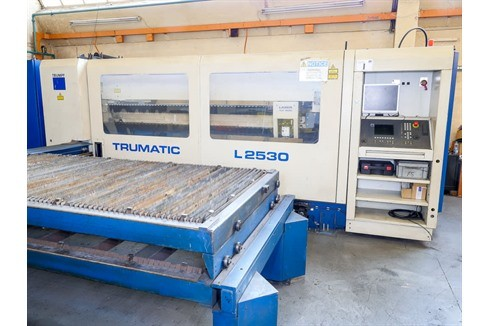 Laser Cutting Machine Trumpf - TRUMATIC L2530 photo on Industry-Pilot