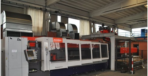 Laser Cutting Machine Bystronic - BYSPEED 3015 photo on Industry-Pilot