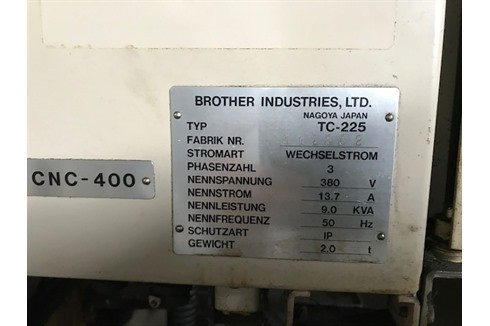 Обрабатывающий центр - вертикальный Brother - TC 225 фото на Industry-Pilot