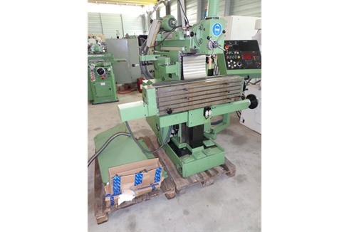Knee-and-Column Milling Machine - univ. Mikron - WF 3-DP photo on Industry-Pilot