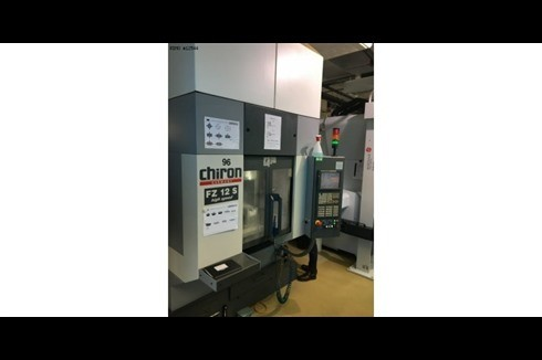 Machining Center - Vertical Chiron FZ 12 S photo on Industry-Pilot