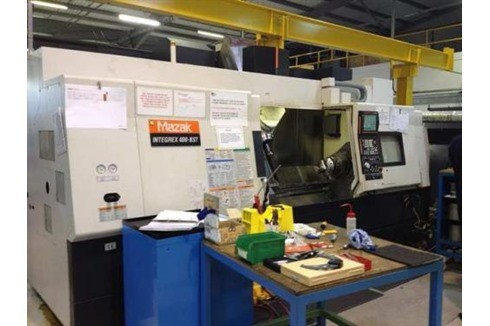 CNC Turning Machine Mazak - Integrex 400 III photo on Industry-Pilot