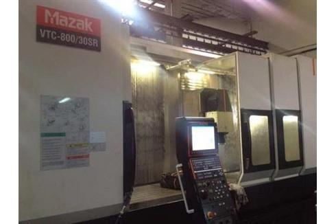 Machining Center - Vertical Mazak - VTC 800/30 SR photo on Industry-Pilot