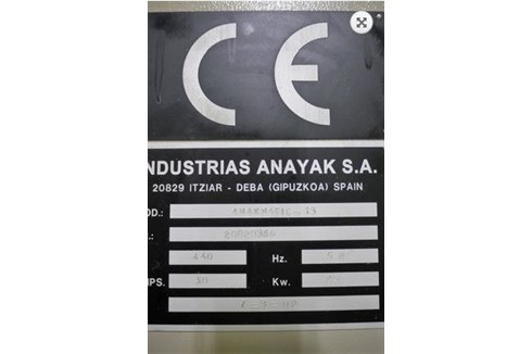 Machining Center - Vertical Anayak - ANAK-MATIC 13 photo on Industry-Pilot