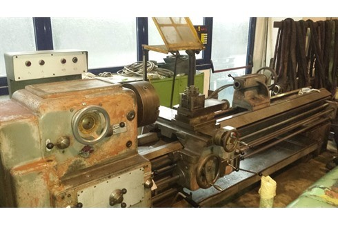 Screw-cutting lathe Graco - SAG 20-2500  photo on Industry-Pilot