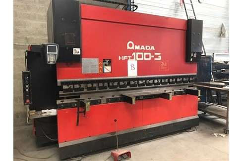 Press Brake hydraulic Amada - HFT 100T/3000 photo on Industry-Pilot