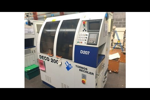 Automatic profile Lathe - Longitudinal Tornos DECO 10 GEGENSPINDEL  photo on Industry-Pilot