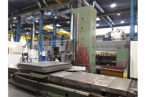 Floor-type horizontal boring machine Tos Varnsdorf - WHN 13.8 TNC 355 photo on Industry-Pilot