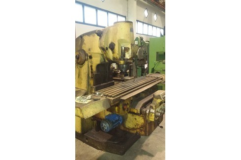Knee-and-Column Milling Machine - vert. WMW - FSS 400 photo on Industry-Pilot