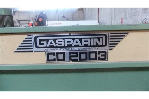 Press Brake hydraulic Gasparini - CO 2003 photo on Industry-Pilot