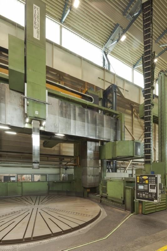 Vertical Turret Lathe - Double Column PIETRO CARNAGHI AP 80 TM photo on Industry-Pilot