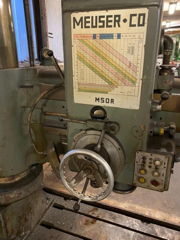 Radial Drilling Machine MEUSER M50R photo on Industry-Pilot