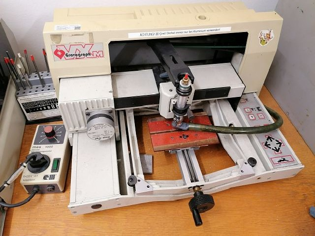 Engraving Machine GRAVOGRAPH VXM+  photo on Industry-Pilot