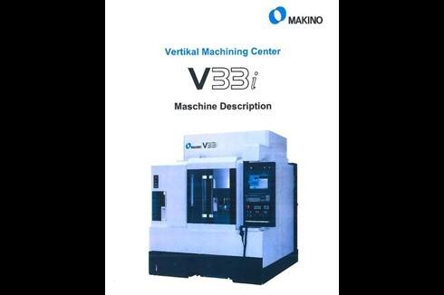 Machining Center - Vertical Makino - V 33i photo on Industry-Pilot