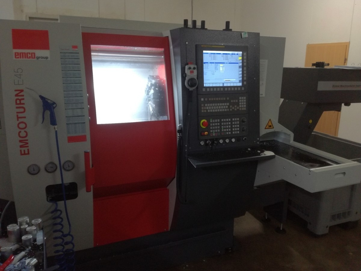 CNC Turning Machine EMCO ET 45 M photo on Industry-Pilot
