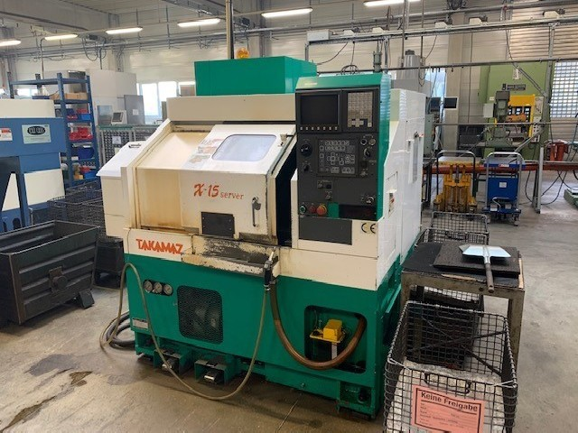 CNC Turning Machine TAKAMATSU X15 photo on Industry-Pilot