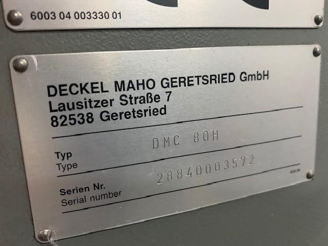 Machining Center - Universal DECKEL MAHO DMC 80 H photo on Industry-Pilot