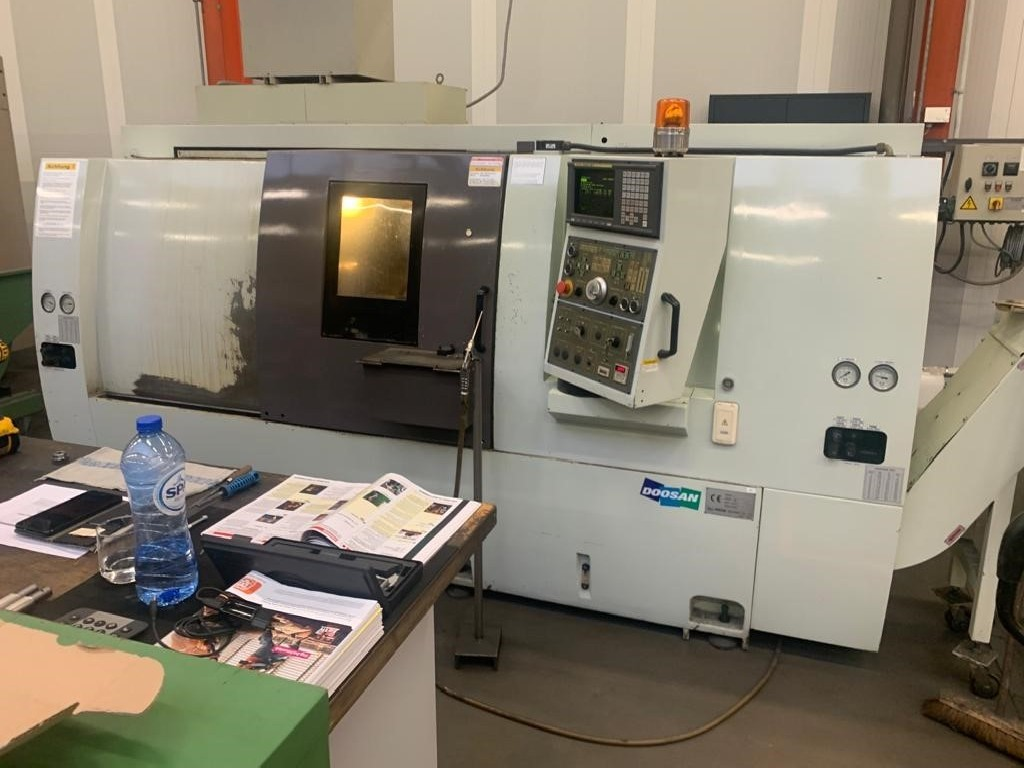 CNC Turning Machine - Inclined Bed Type DOOSAN TML310 photo on Industry-Pilot