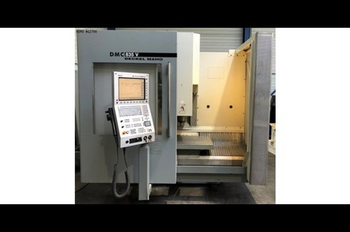Machining Center - Vertical DMG DMC 835 V ISO40 photo on Industry-Pilot