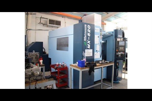 Machining Center - Vertical Matsuura - MX-520 Achsen 5 photo on Industry-Pilot