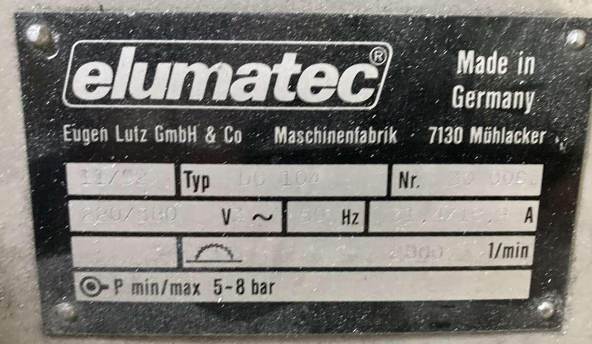 Double mitre box saws Elumatec DG 104 photo on Industry-Pilot