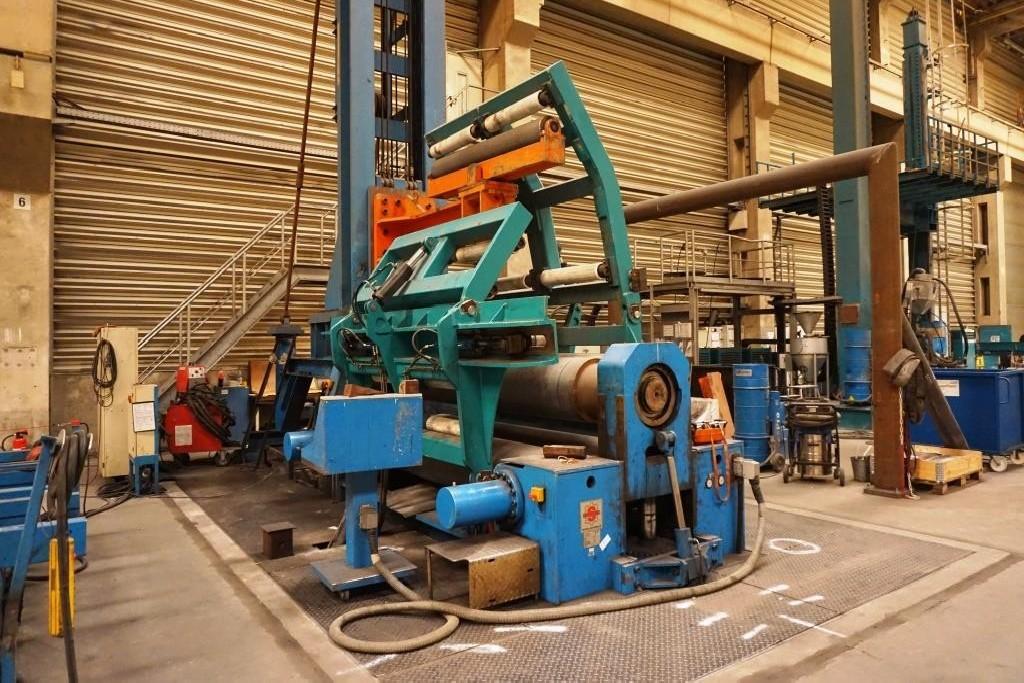 Plate Bending Machine - 3 Rolls SERTOM EMO 30-50 photo on Industry-Pilot