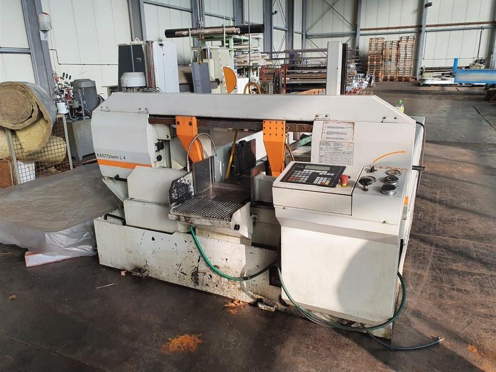 Bandsaw metal working machine - Automatic KASTO KASTOtwin L4 photo on Industry-Pilot