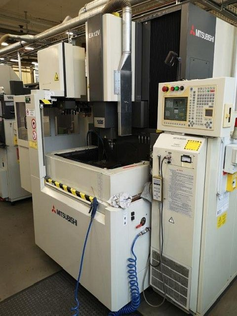 Cavity Sinking EDM Machine MITSUBISHI EA 12 V  photo on Industry-Pilot