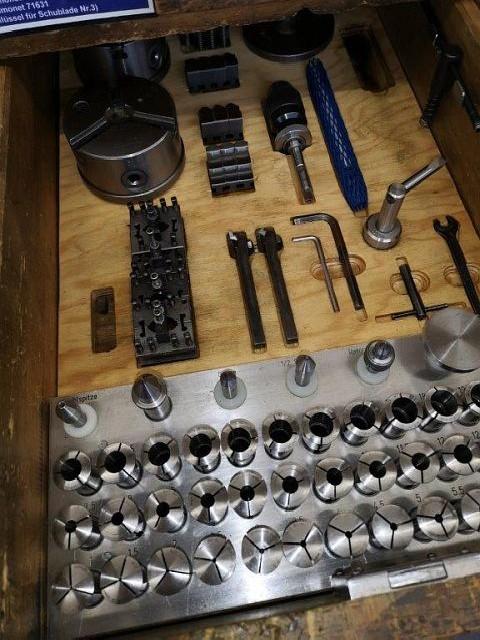 Screw-cutting lathe SIMONET DC  photo on Industry-Pilot