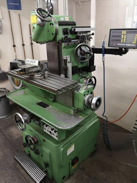 Milling Machine - Vertical ACIERA F4 800mm photo on Industry-Pilot