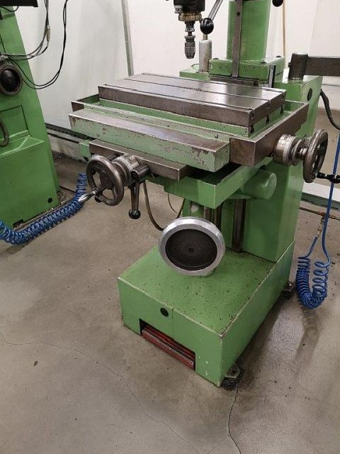 Milling Machine - Vertical ACIERA 22 STA E  photo on Industry-Pilot