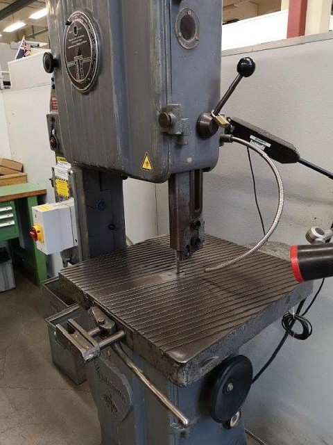 Bandsaw metal working machine - vertical NASSOVIA MT 18  photo on Industry-Pilot