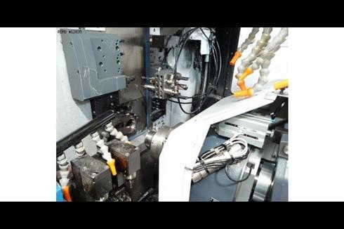 Automatic profile Lathe - Longitudinal Tornos GT32 CNC photo on Industry-Pilot