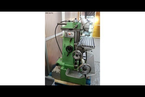 Toolroom Milling Machine - Universal Schaublin - 13 photo on Industry-Pilot
