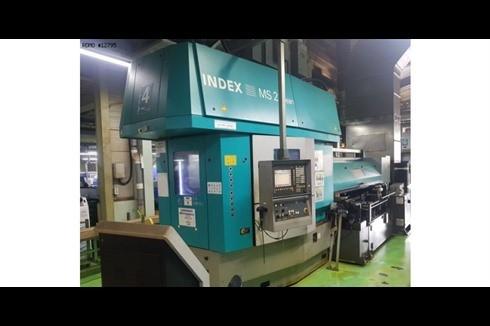 Прутковый токарный автомат продольного точения Index - MS22 C LEAN Stangenlademagazin фото на Industry-Pilot