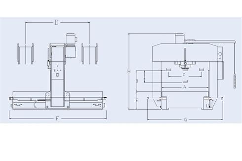 Hydraulic Press Profi Press - PPTL-220 photo on Industry-Pilot