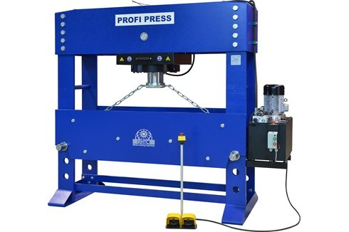 Штамповочный пресс - двухстоечный Profi Press - 300 ton MH-MC-2 D=1750 фото на Industry-Pilot