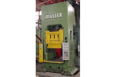 Double Column Drawing Press - Mechanical Muller - ZE 160 photo on Industry-Pilot