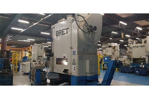 Double Column Drawing Press - Mechanical Bret - 2 PAM 12 photo on Industry-Pilot