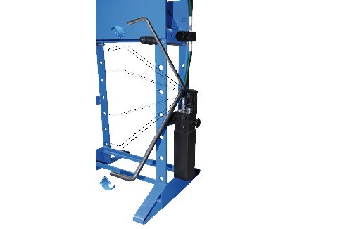 Tryout Press - hydraulic Profi Press - 15 ton HF-2 photo on Industry-Pilot