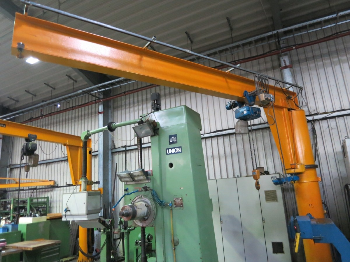 Pillar jib crane Abus 1600 kg photo on Industry-Pilot