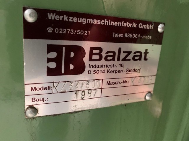 Keyway-seating machine BALZAT 32/300 photo on Industry-Pilot