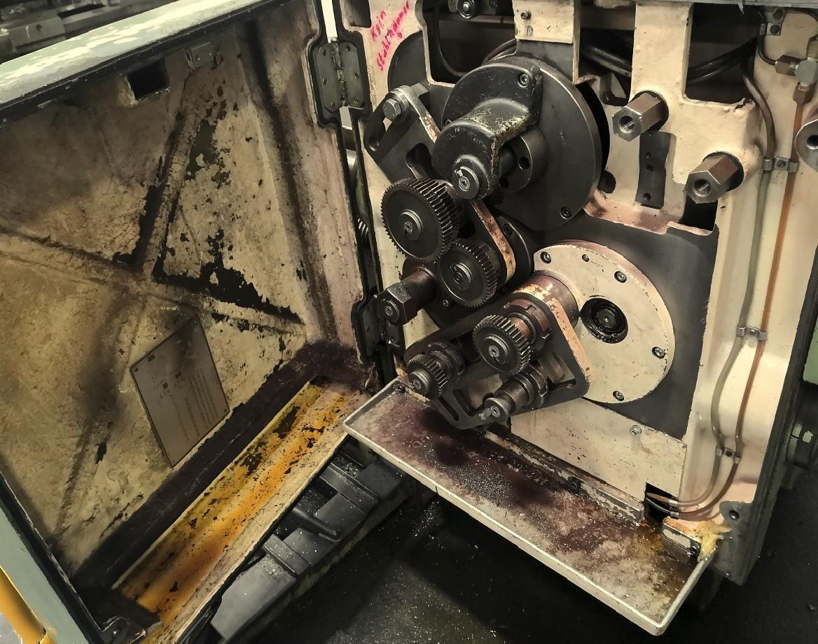 Резьбошлицефрезерный станок WANDERER GF 323 фото на Industry-Pilot