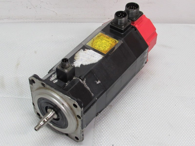 Servo motor  Fanuc A06B-0128-B176#7000 Servo Motor  photo on Industry-Pilot