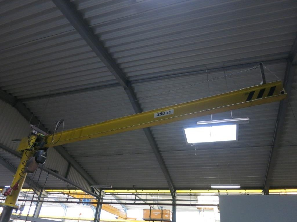 Pillar jib crane Demag MOB 2,5-4,0 photo on Industry-Pilot
