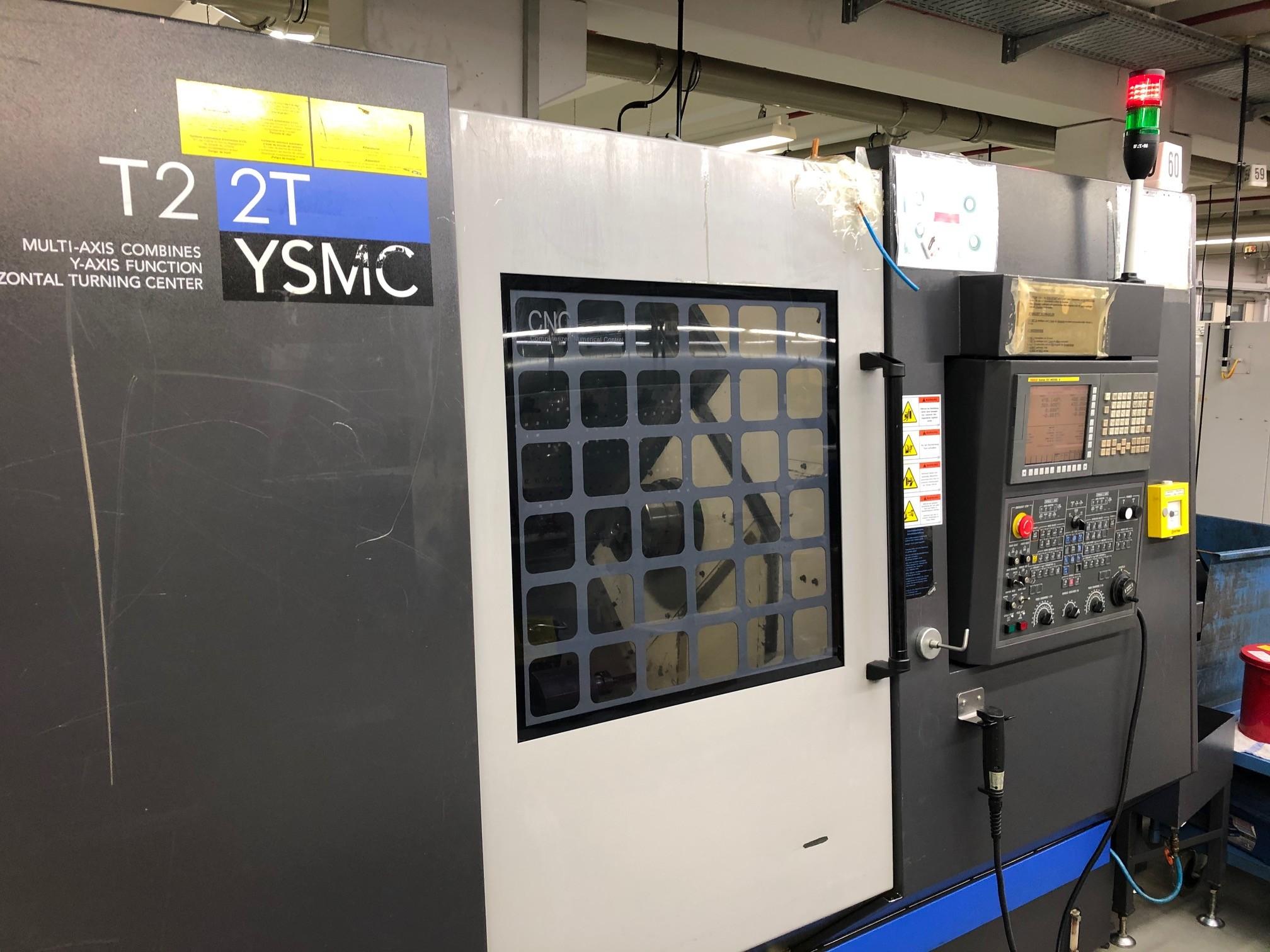 Токарно фрезерный станок с ЧПУ  HWACHEON T2-2T YSMC фото на Industry-Pilot