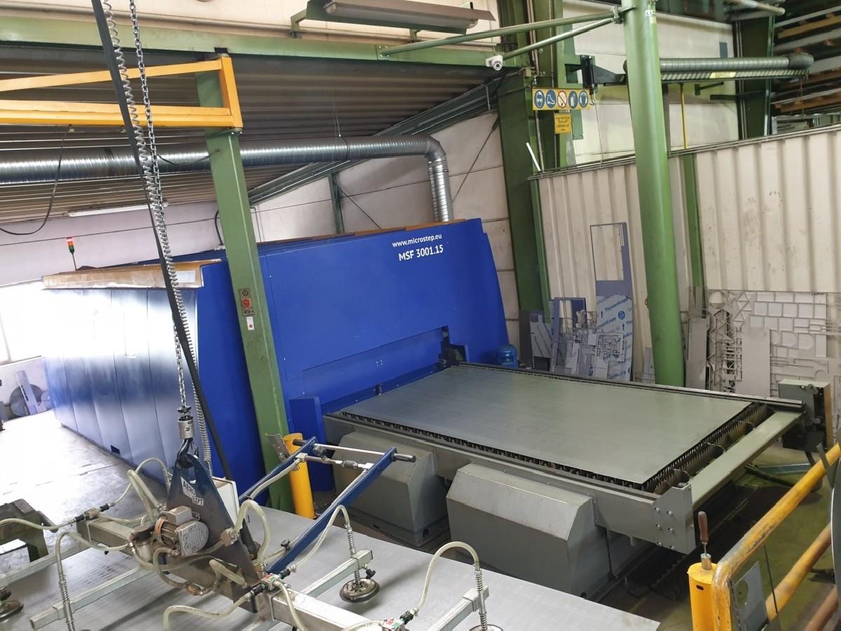 Станок лазерной резки MICRO-STEP MSF 3001.15 фото на Industry-Pilot